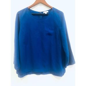 J. Crew Long Sleeve Pullover Blouse
